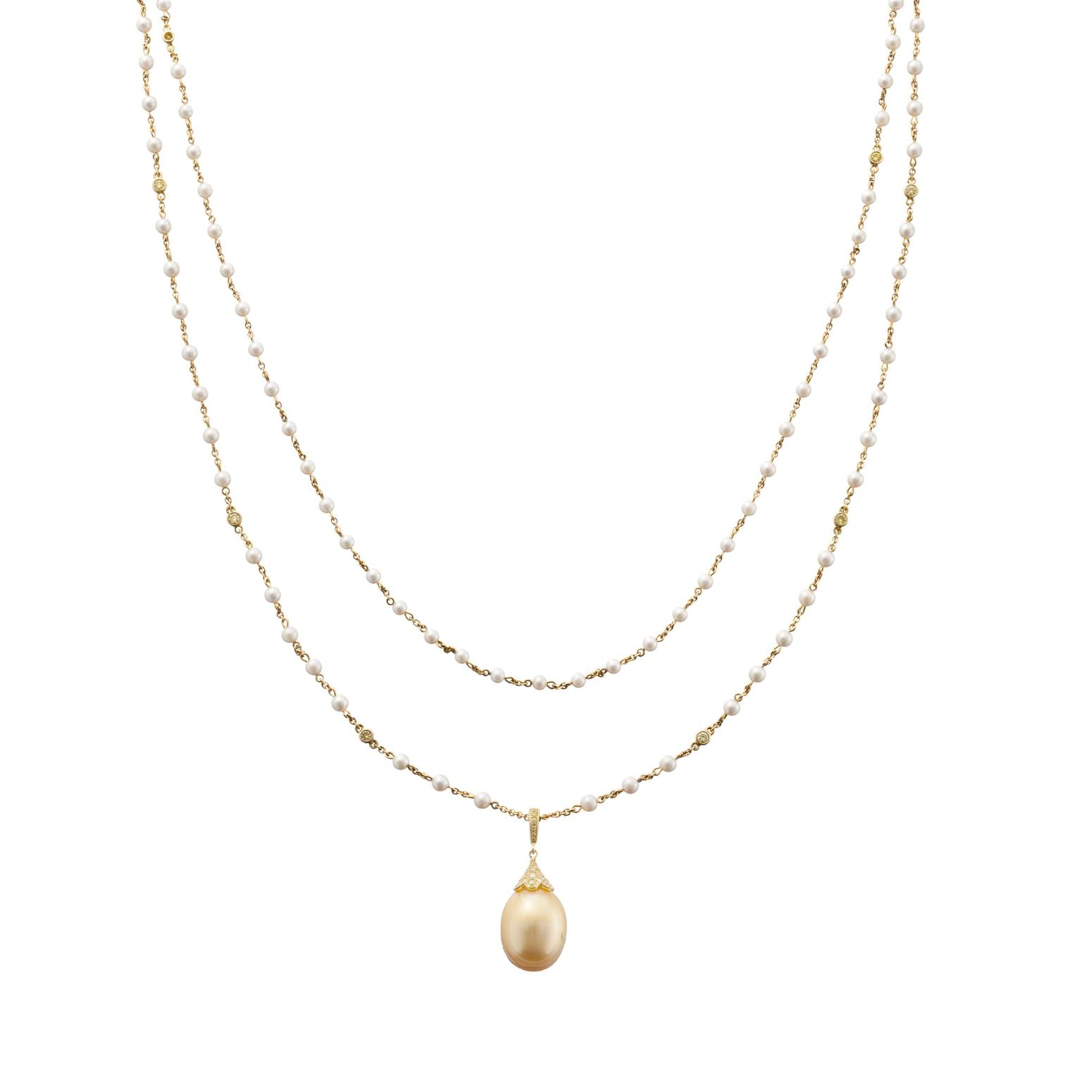 Boodles pearl necklace
