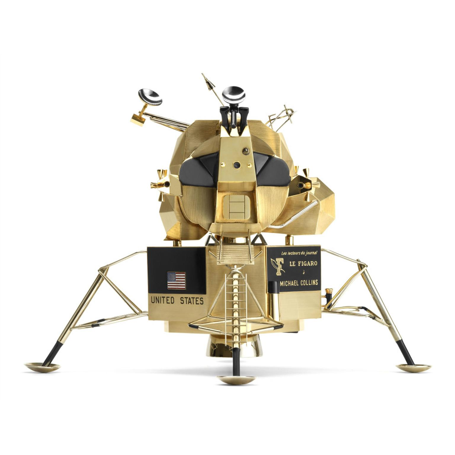 Lunar excursion module by Cartier