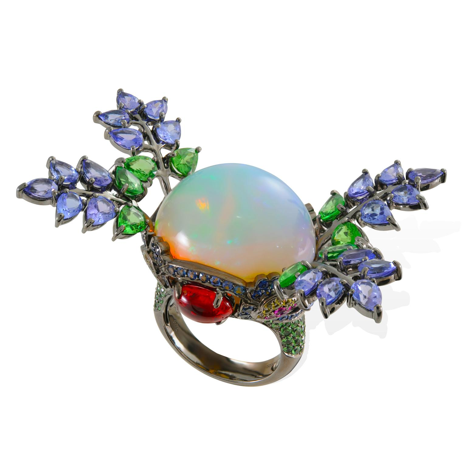 Lydia Courteille Topkapi Welo opal ring