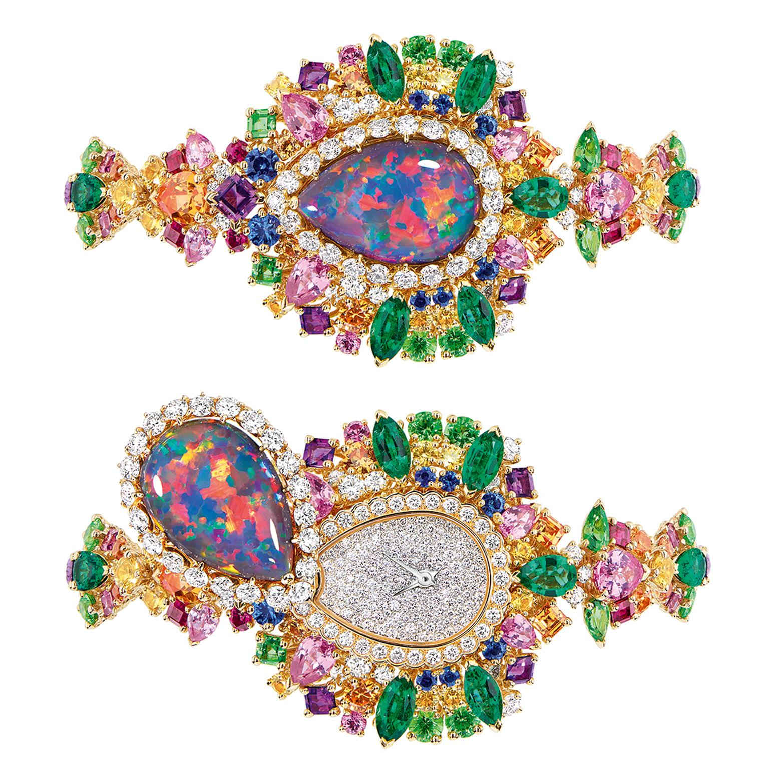 Dior Majestueuse Opal High Jewellery Timepiece