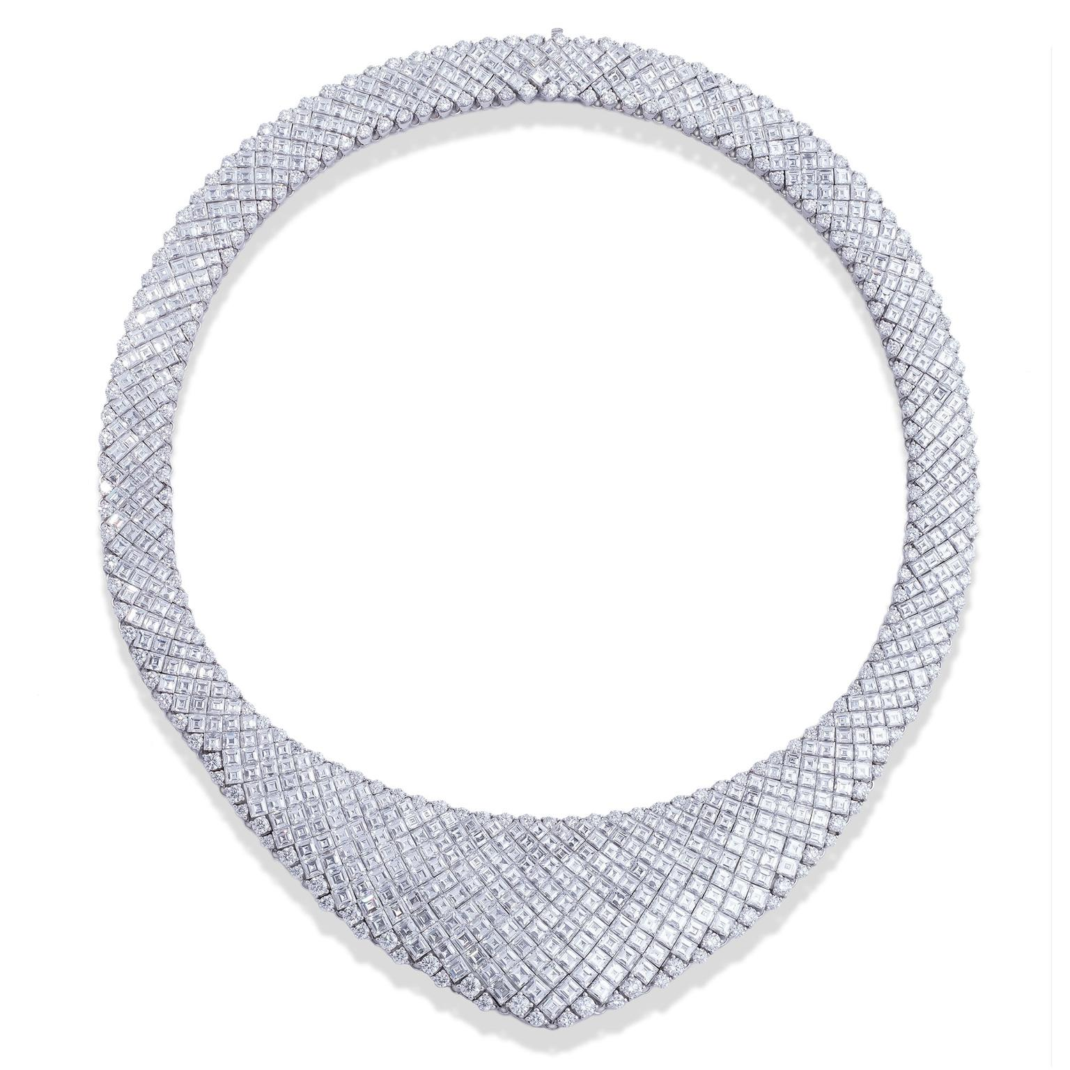 Stenzhorn Ovidio diamond high jewellery necklace