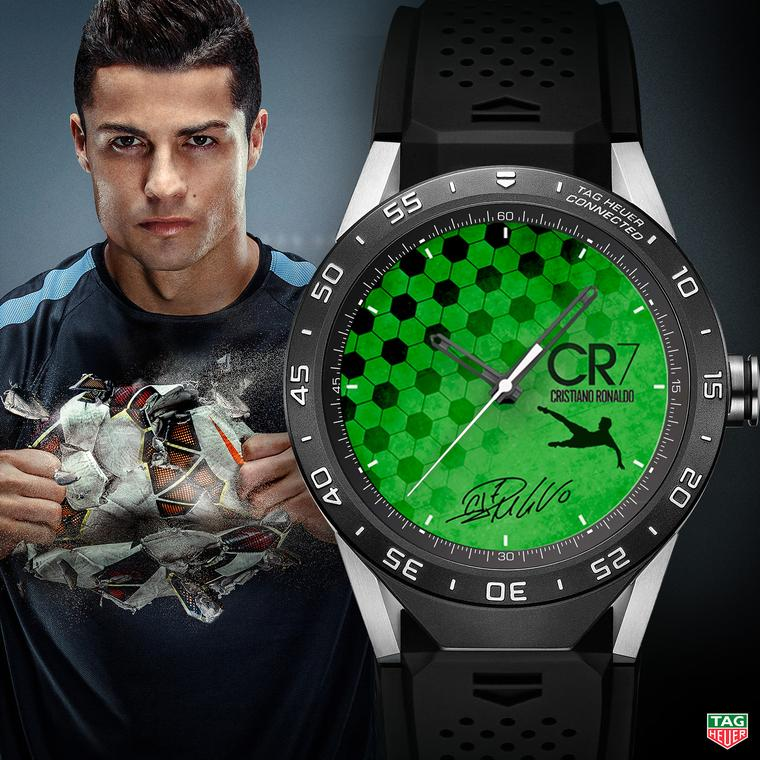 TAG Heuer Connected watch Cristiano Ronaldo