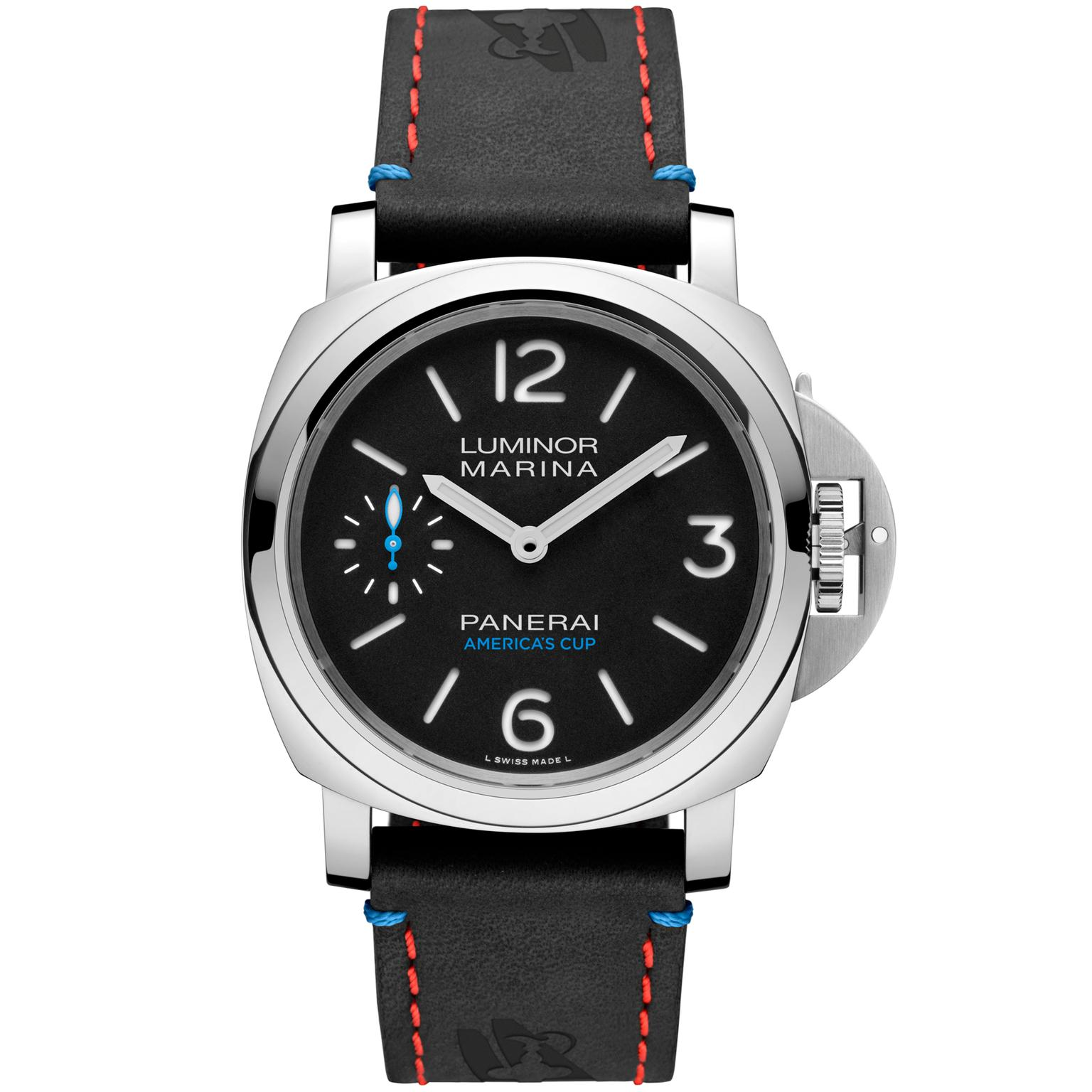 Panerai Luminor Marina Oracle Team USA 8 days accaio watch