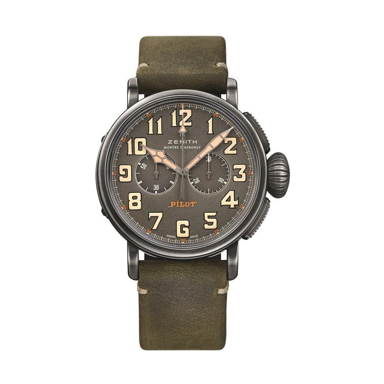 Zenith Heritage Pilot Cafe Racer watch