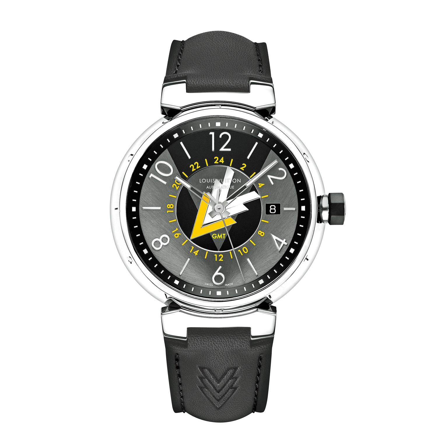 Louis Vuitton Tambour VVV GMT