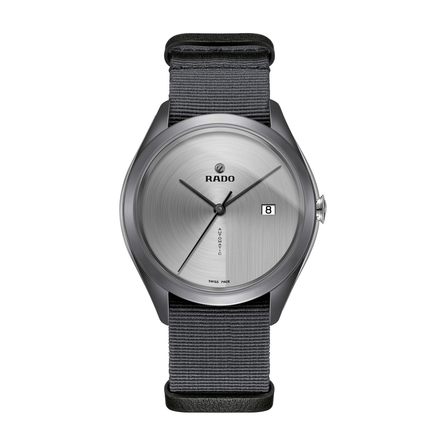 Rado Hyperchrome Ultra Light watch with NATO strap