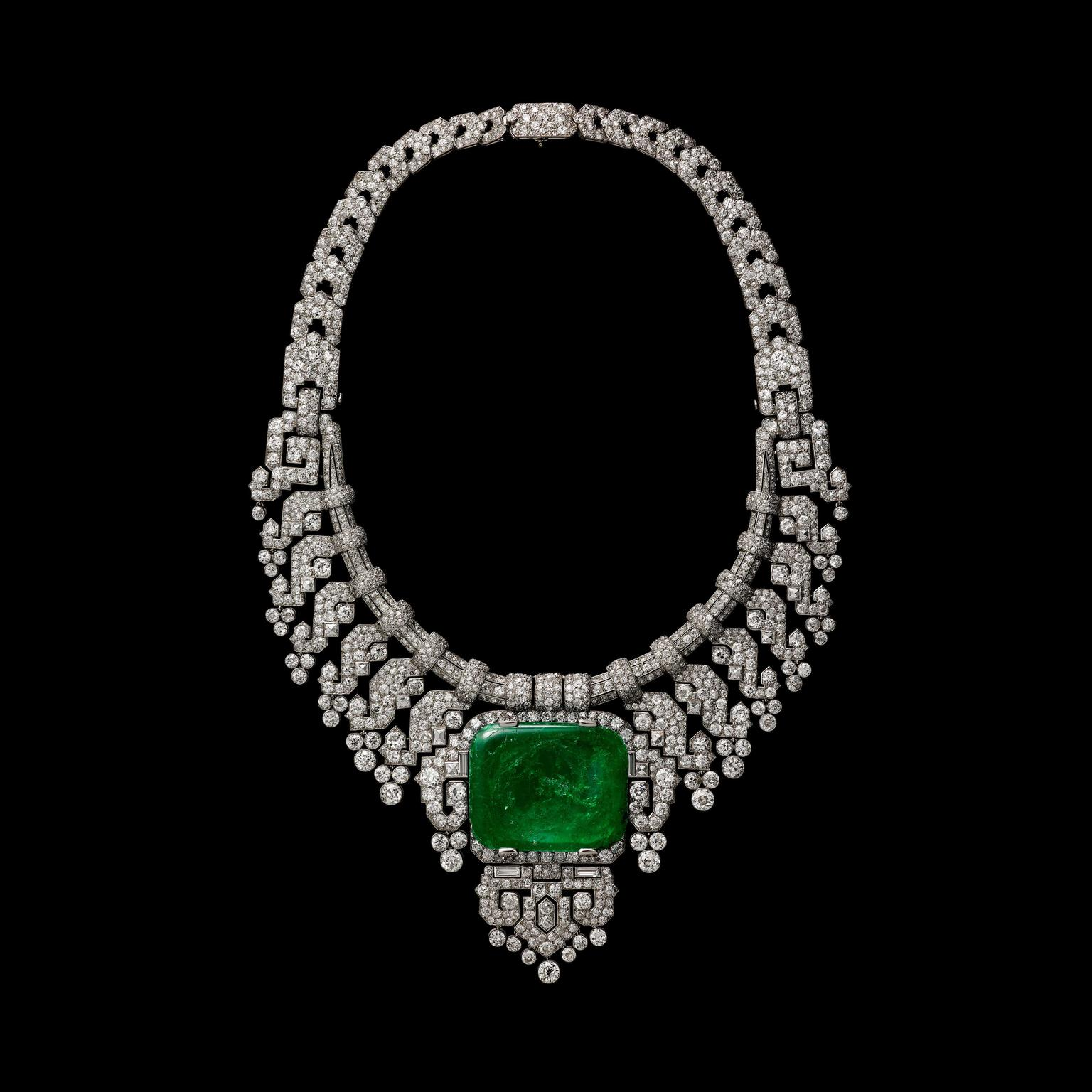 hindu emerald frutti tutti tag art hound necklace crocodile cartier small