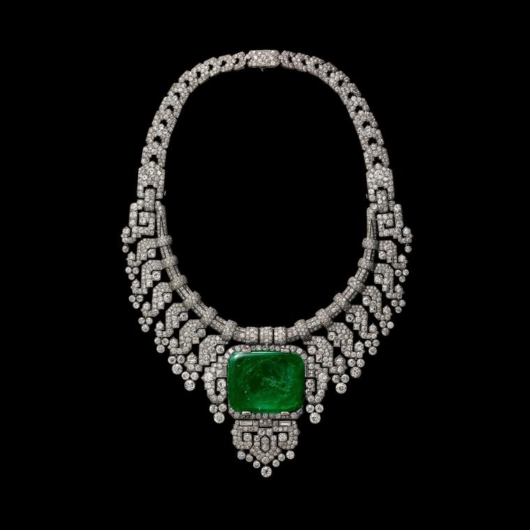 Cartier-emerald-necklace 1932