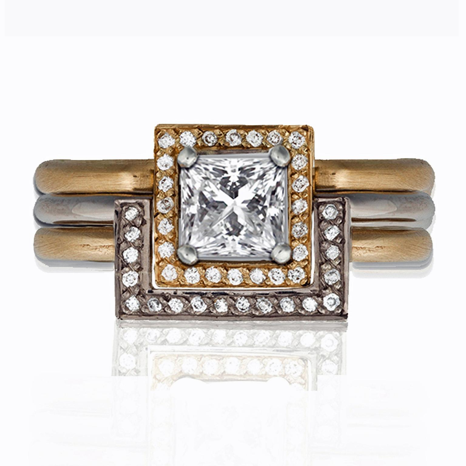 Anna Loucah ethical engagement ring