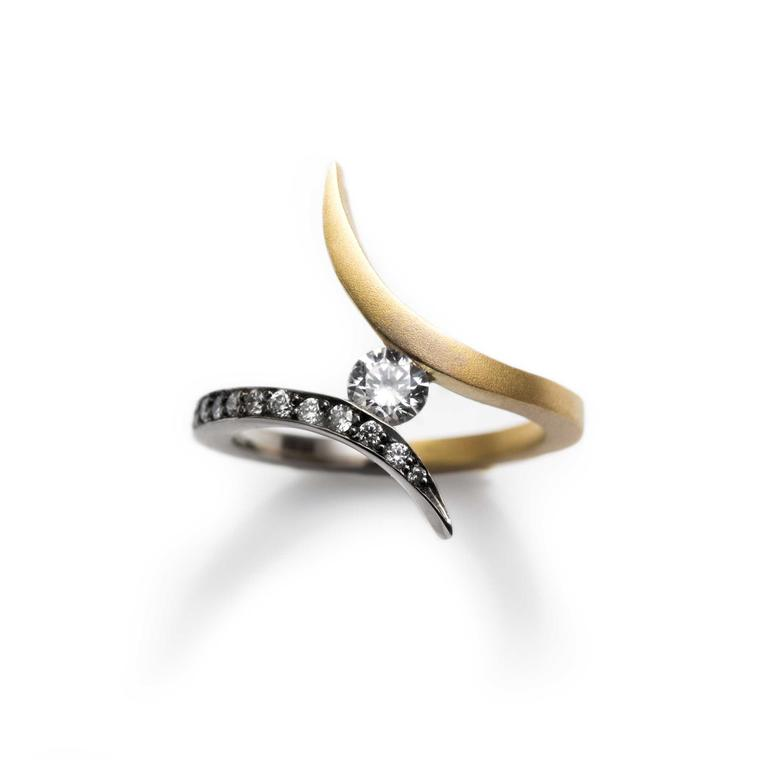 Break from the traditional with an unusual engagement ring