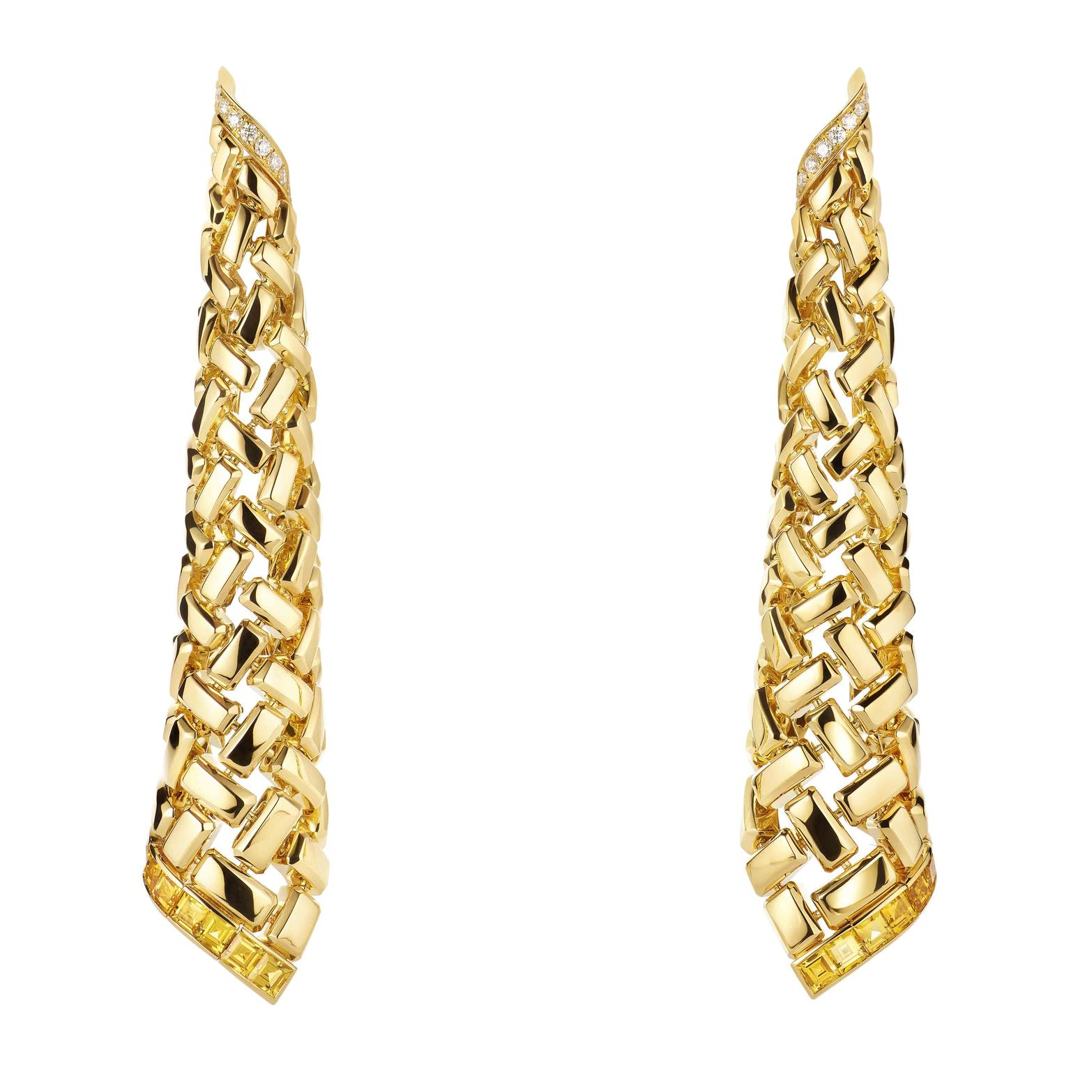 Chaumet Earrings on white