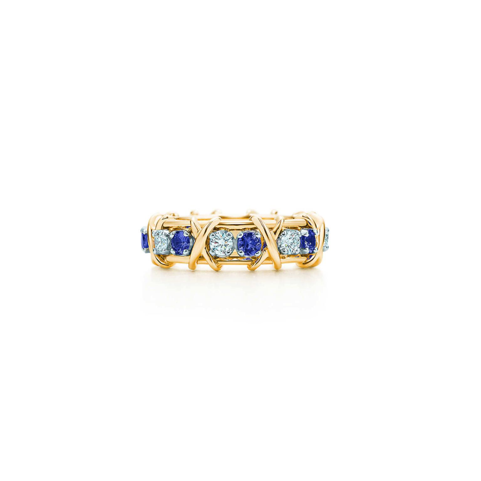 Jean Schlumberger for Tiffany sapphire birthstone ring
