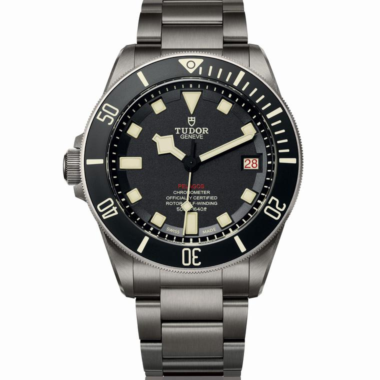 Pelagos LHD left-handed dive watch
