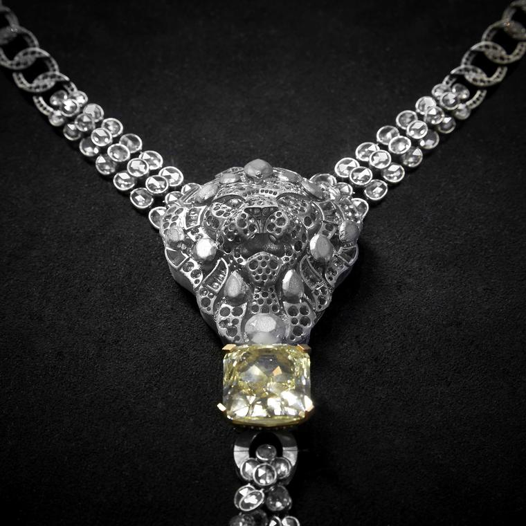 Chanel L'Esprit du Lion Legendary lion necklace in workshop