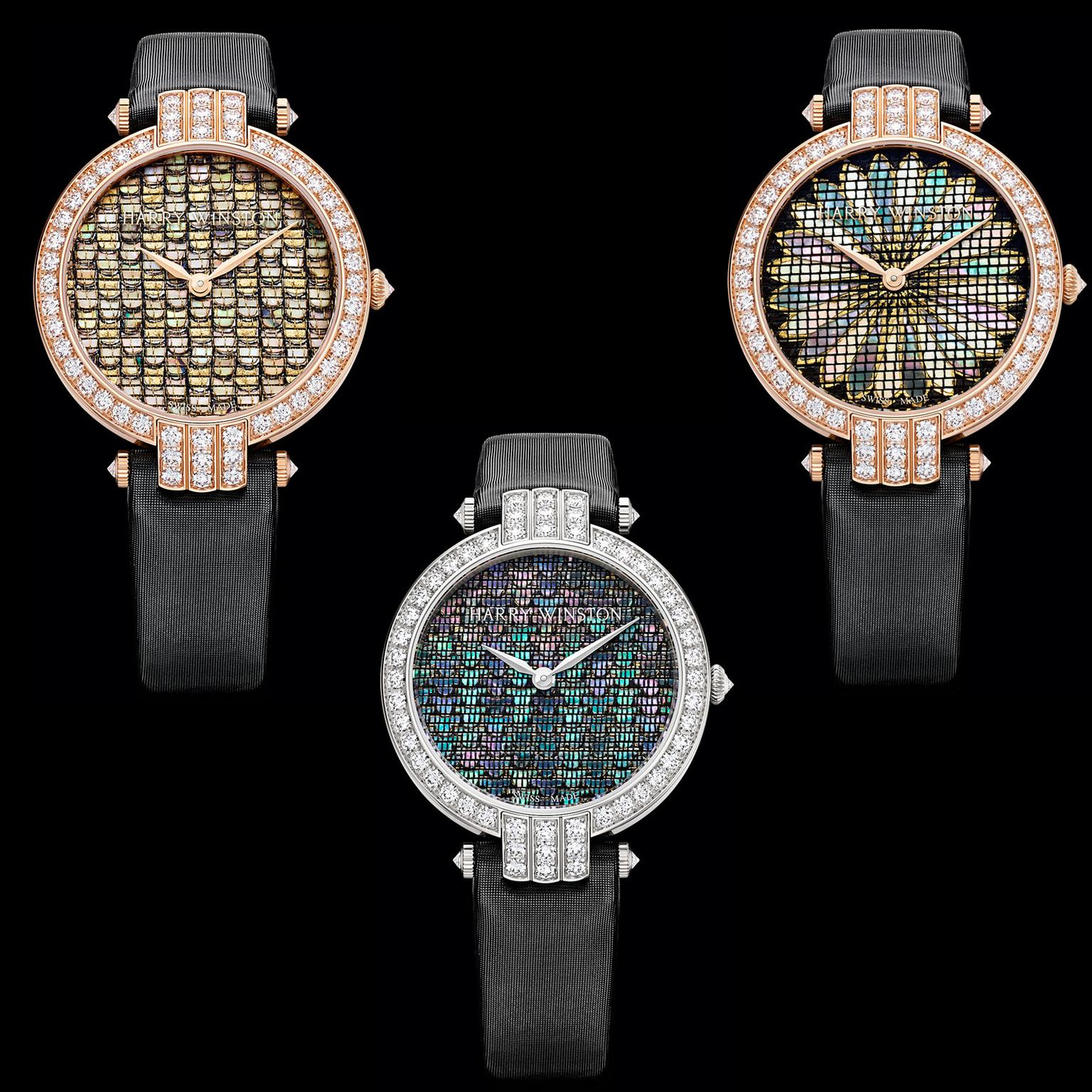 Harry Winston Premier Precious Weaving watch
