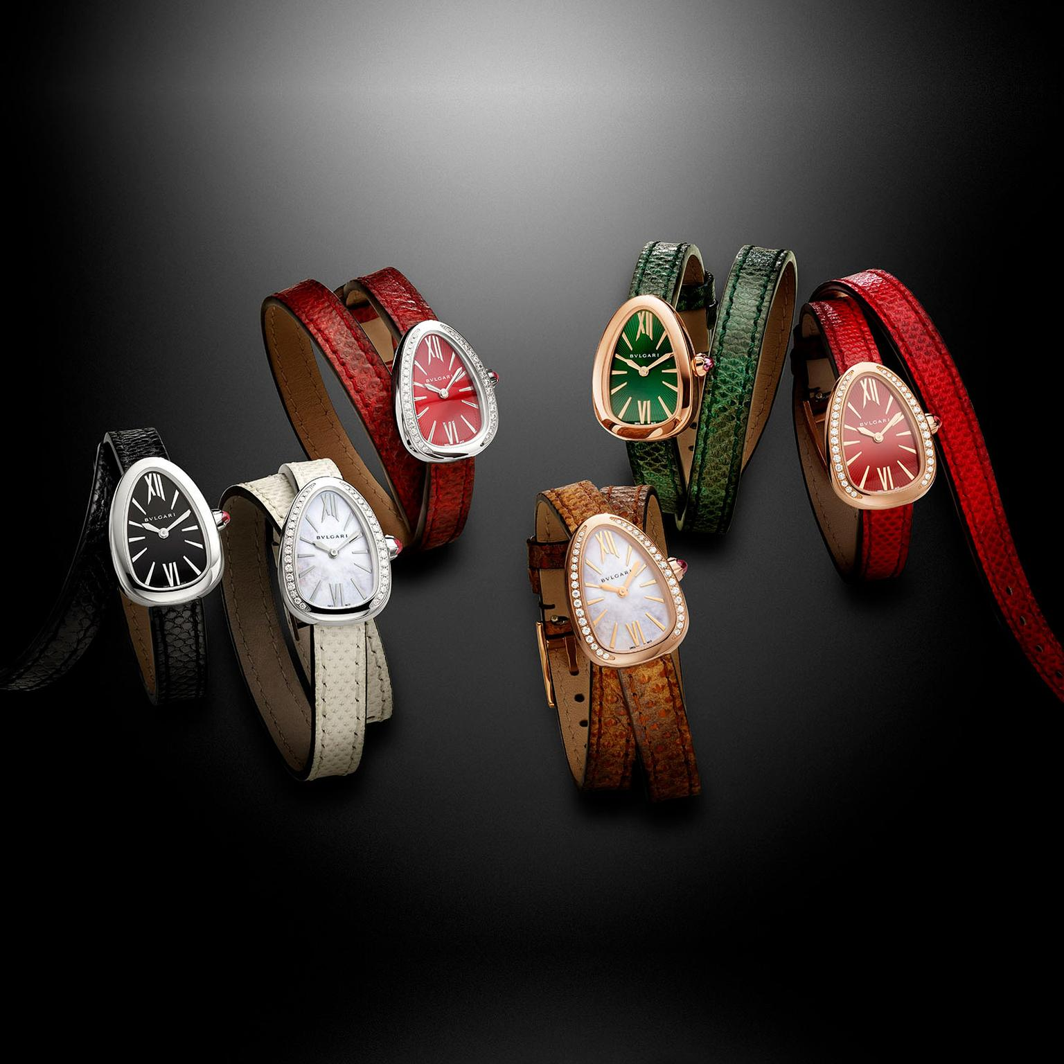 Bulgari Serpenti Karung watch collection
