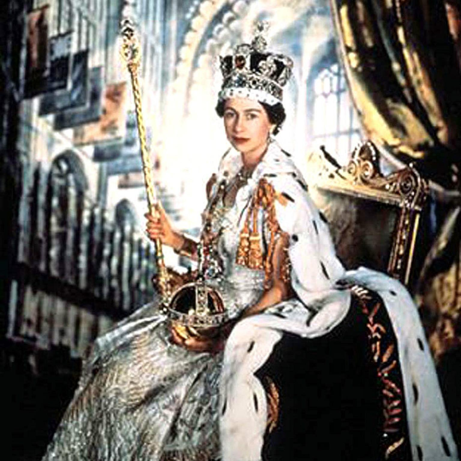 Queen Elizabeth II and The Crown Jewels
