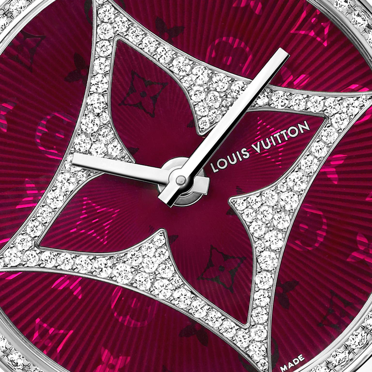 Louis Vuitton Montre Tambour Monogram Star dial