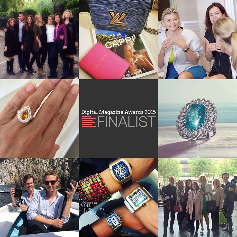 The Jewellery Editor is a finalist in the 2015 Digital Magazine Awards
