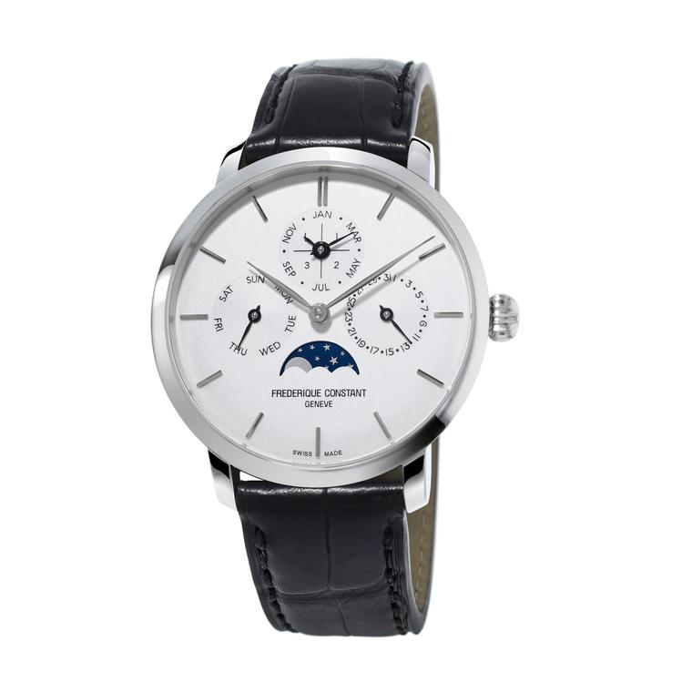 Perpetual Calendar watch in stainless steel