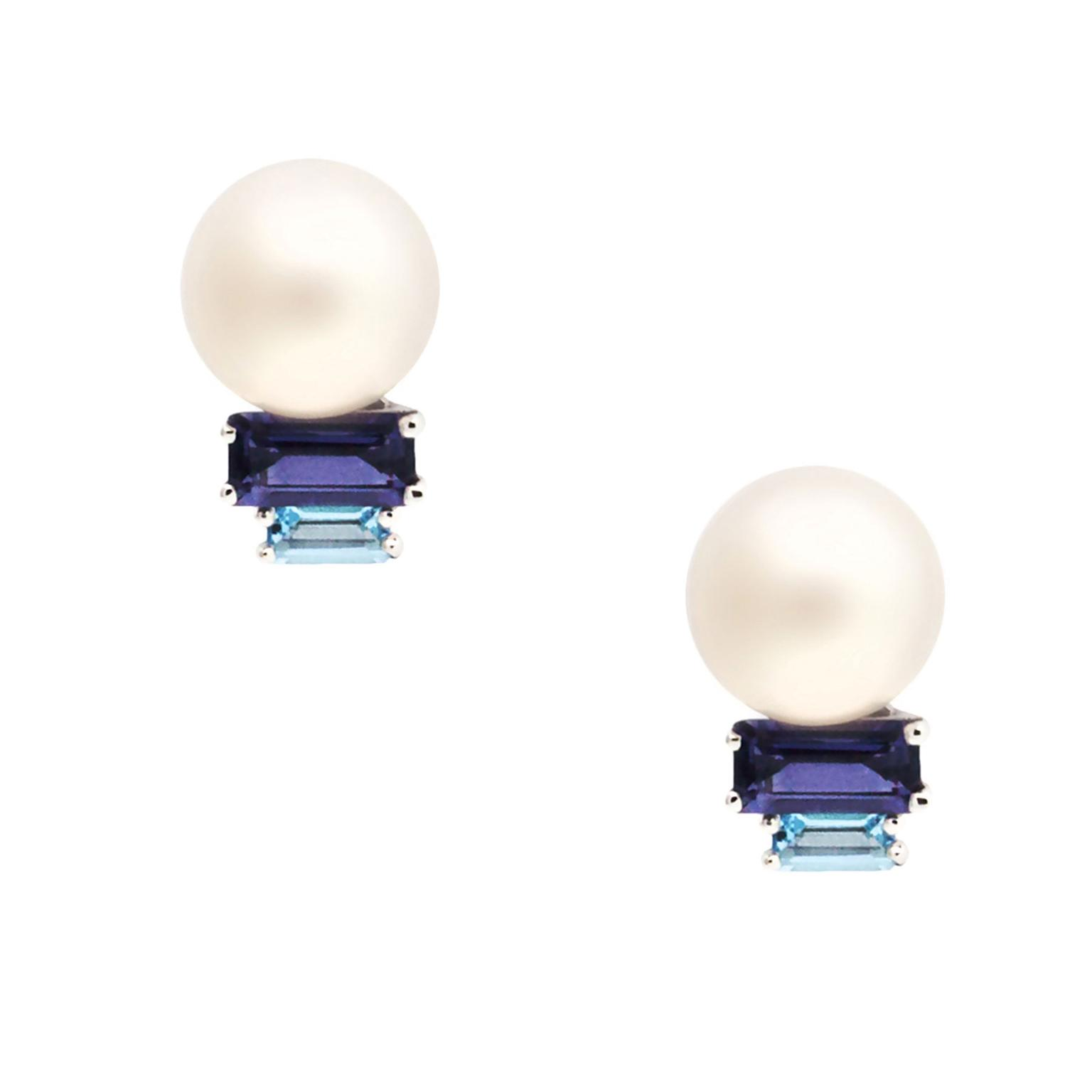 Daou Morning Lite pearl earrings