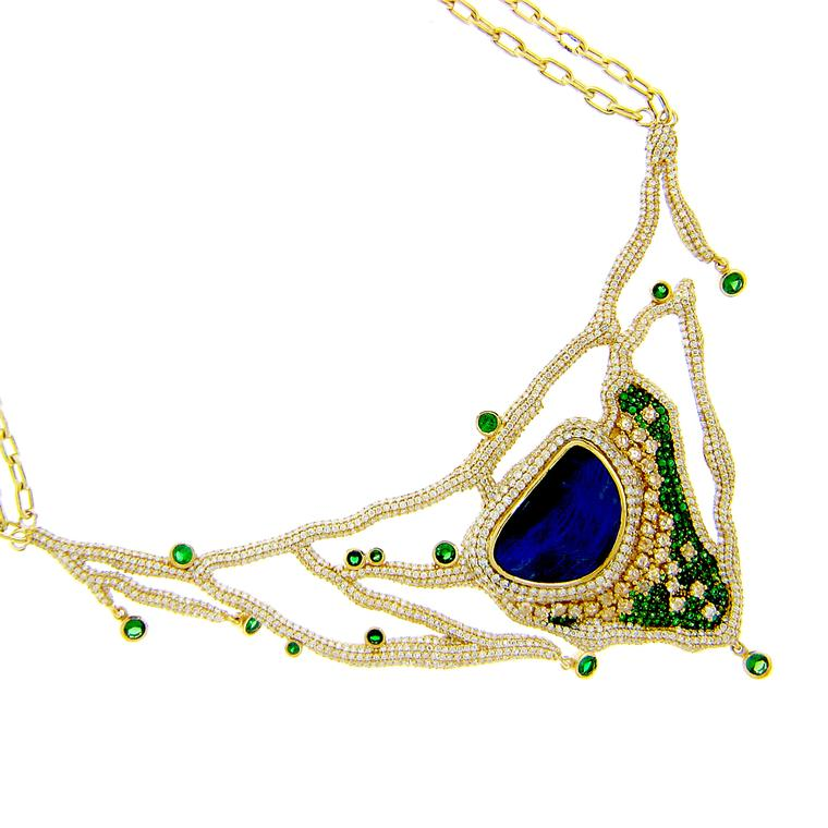 Michael John opal necklace