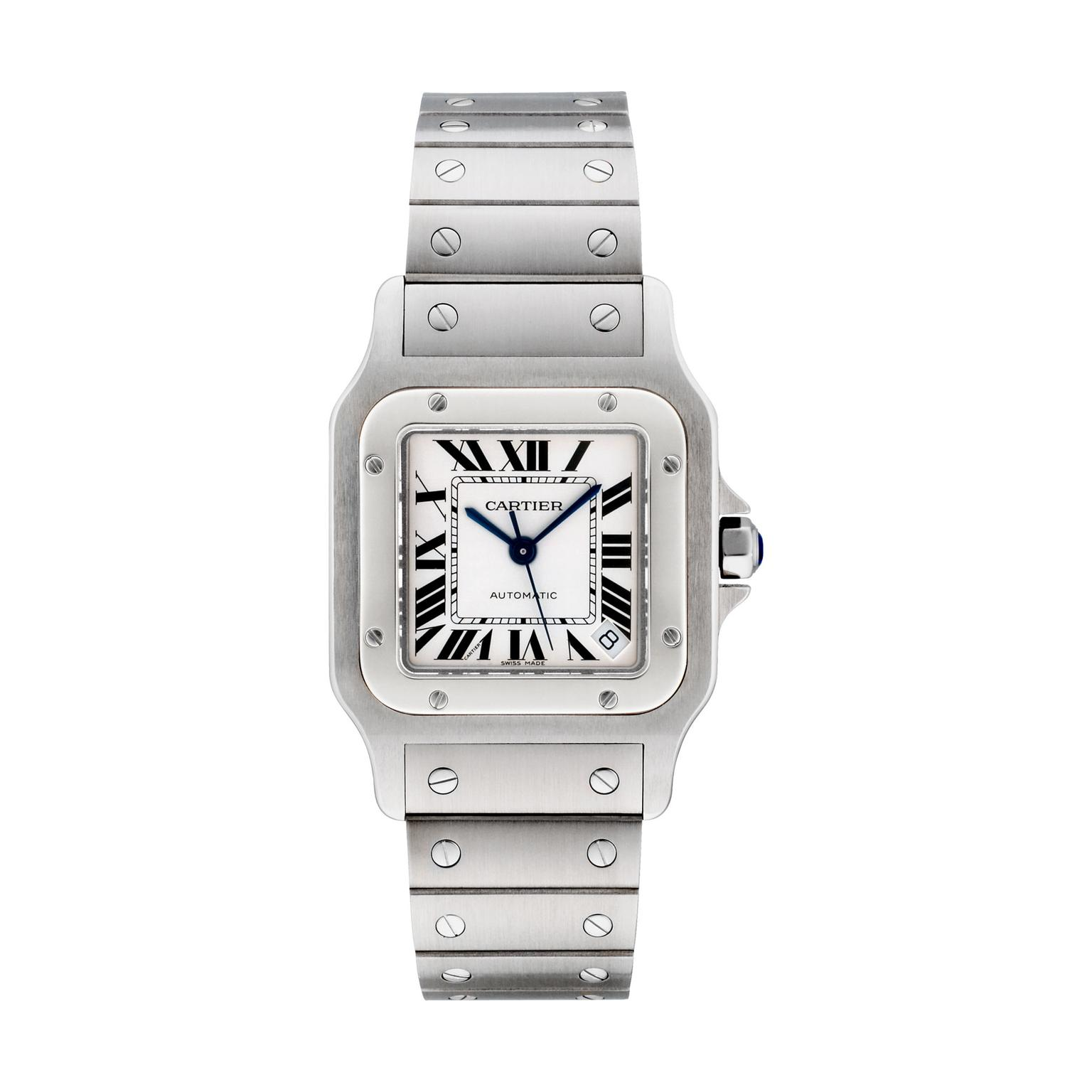 Cartier Santos Galbee watch XL