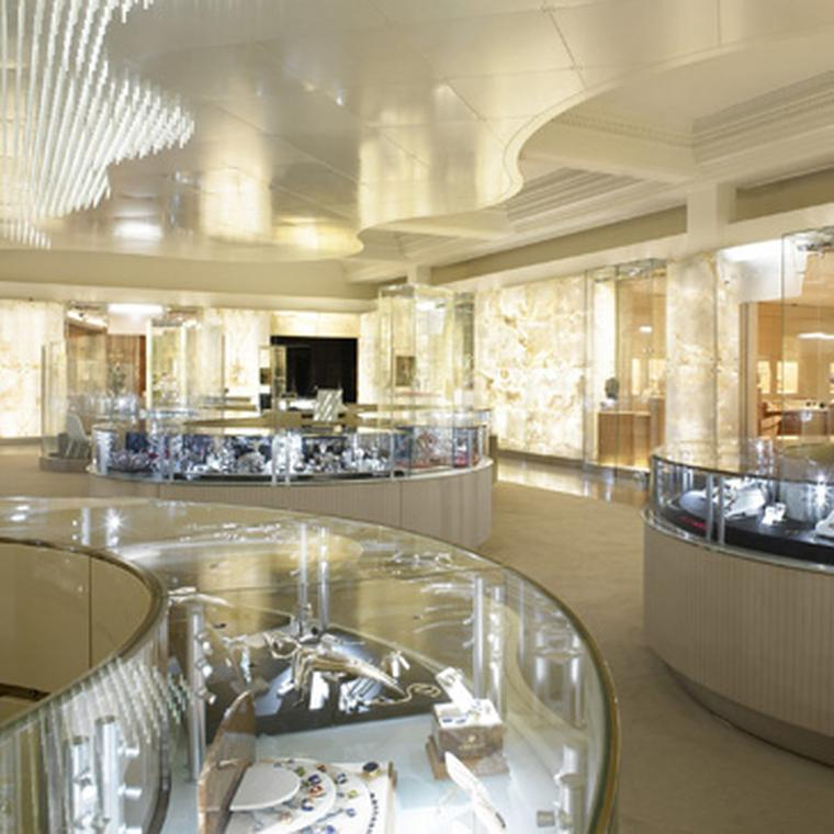 Harrods fine jewellery and watch room