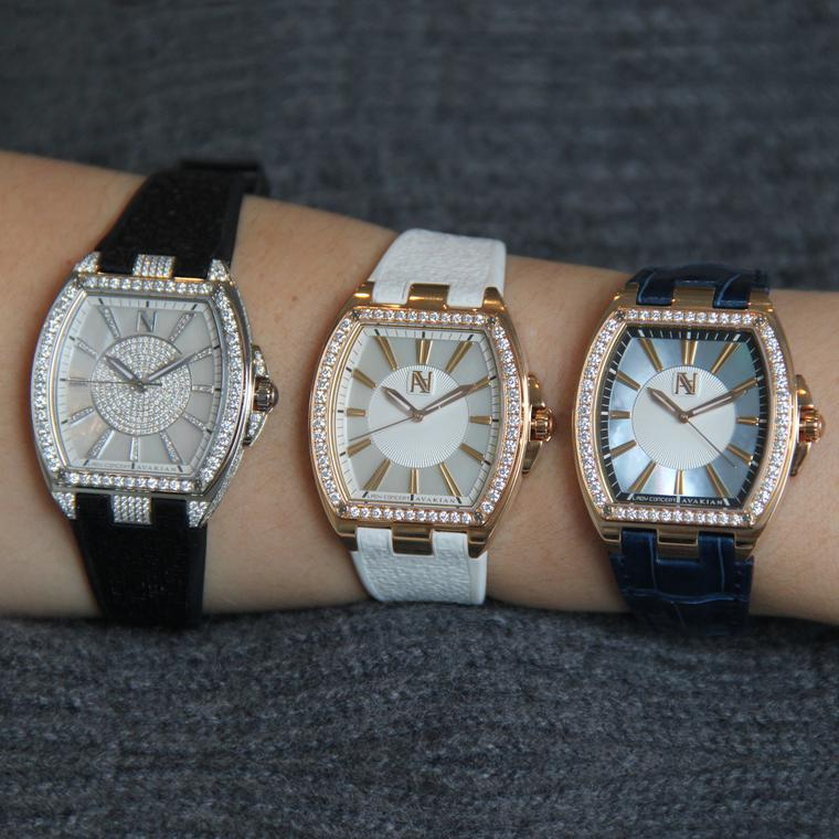 Avakian's Lady Concept watches on the wrist