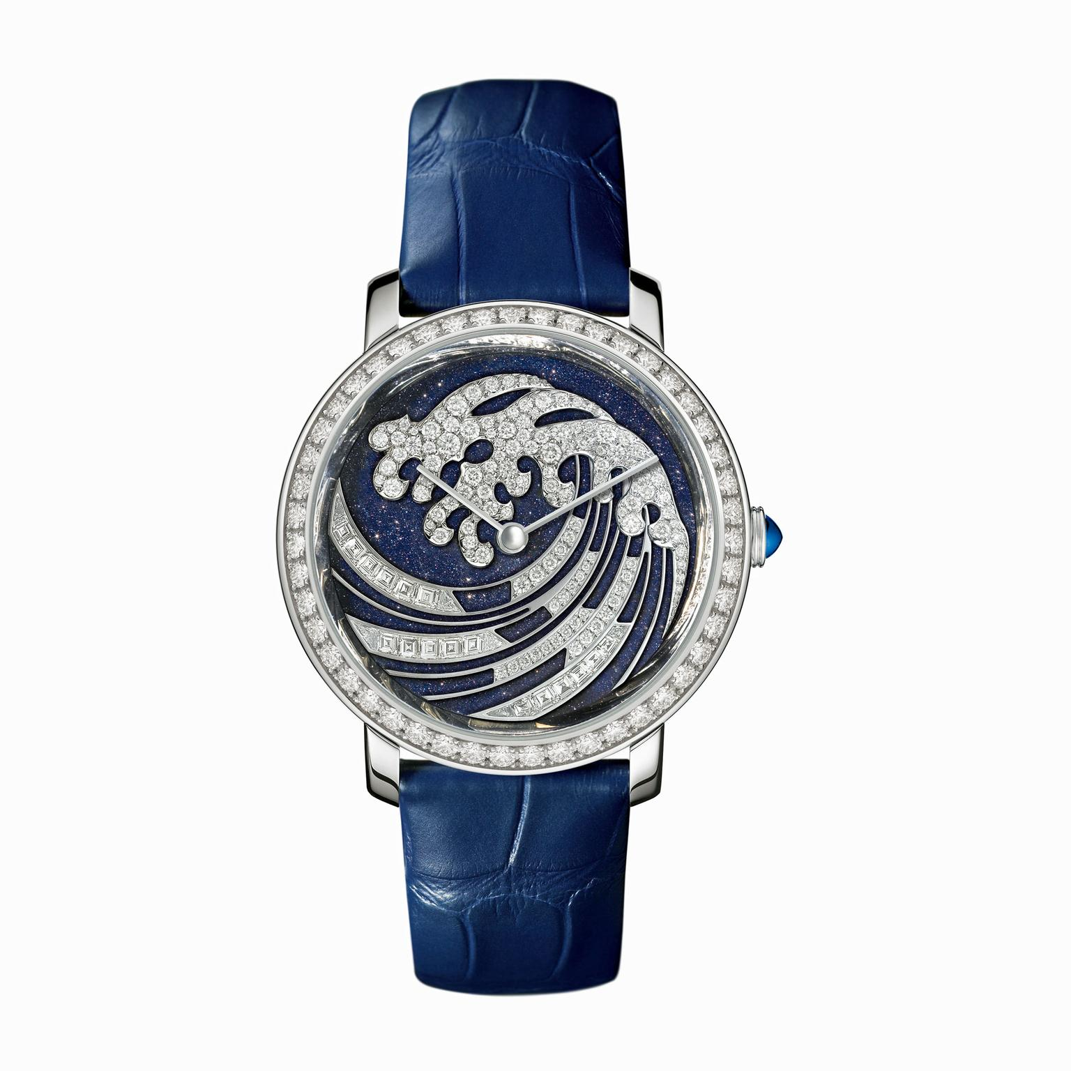 Boucheron Vague de Lumiere watch