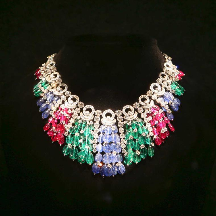 Bulgari multi-coloured gemstone necklace from a private collection in the US