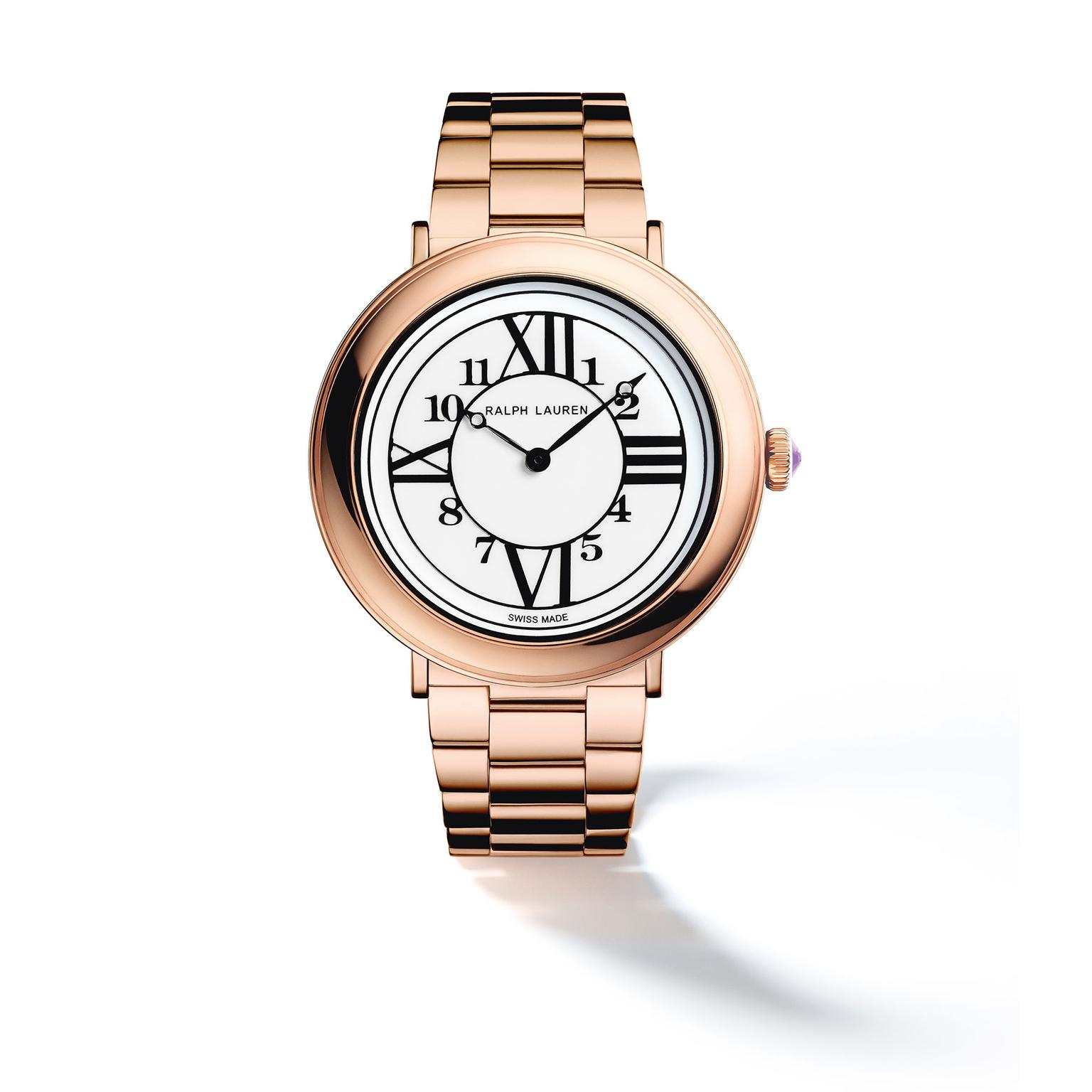 Ralph Lauren RL888 32mm in rose gold