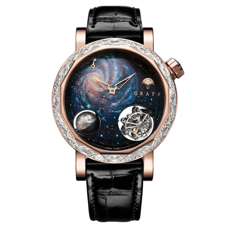 Outer Space Diamond: Are You Man Enough To Wear A Diamond Watch?