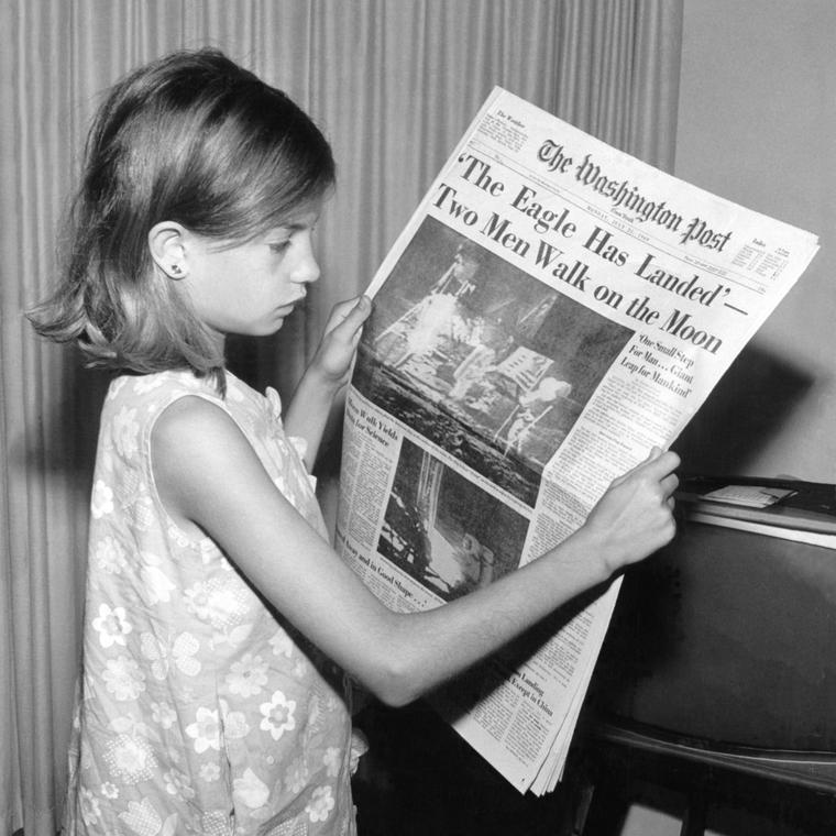 The Washington Post 1969 moon landing