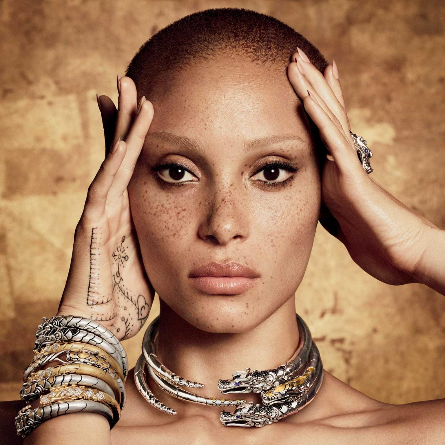 Adwoa Aboah stars in John Hardy's new Made for Legends ad campaign