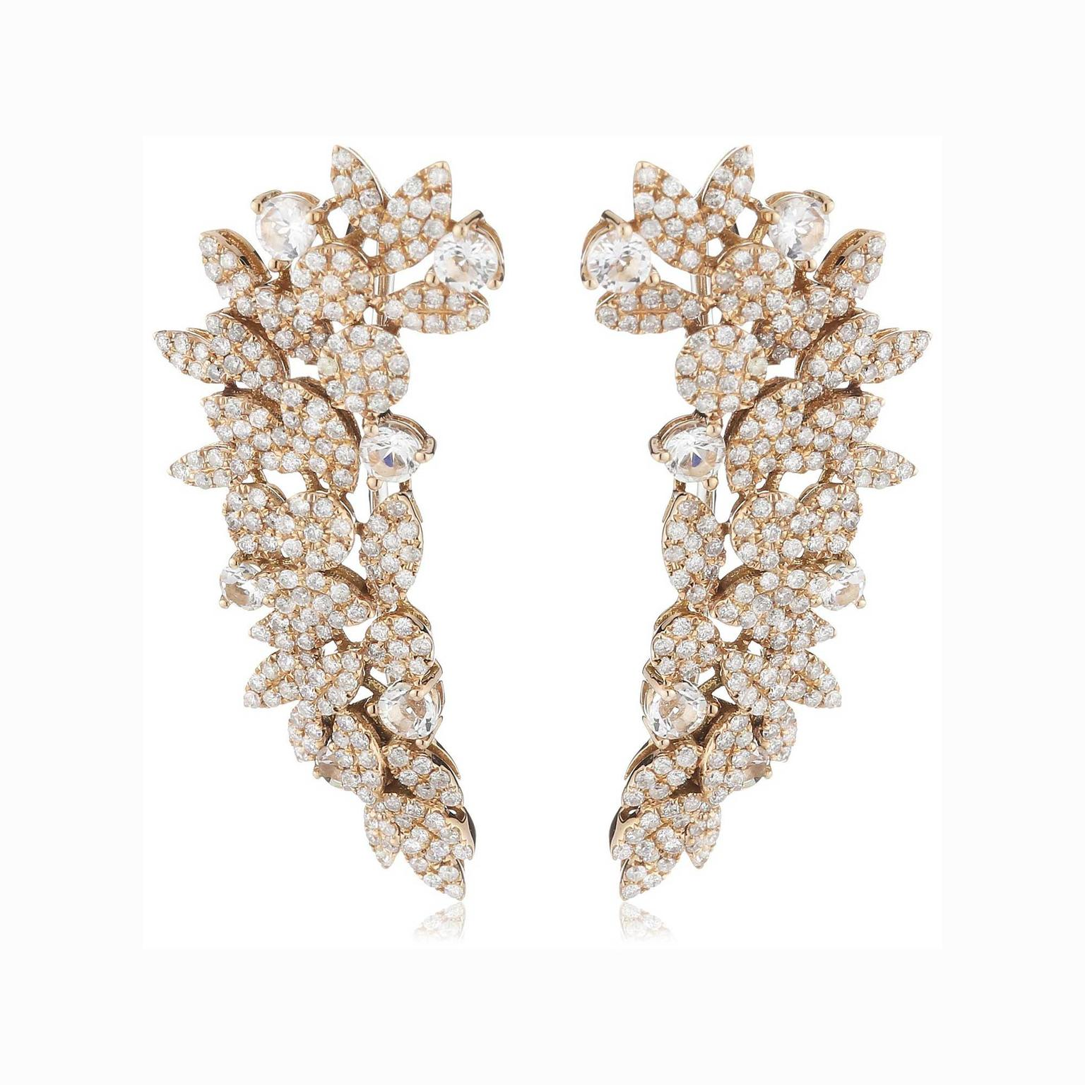 AS29 diamond ear cuffs