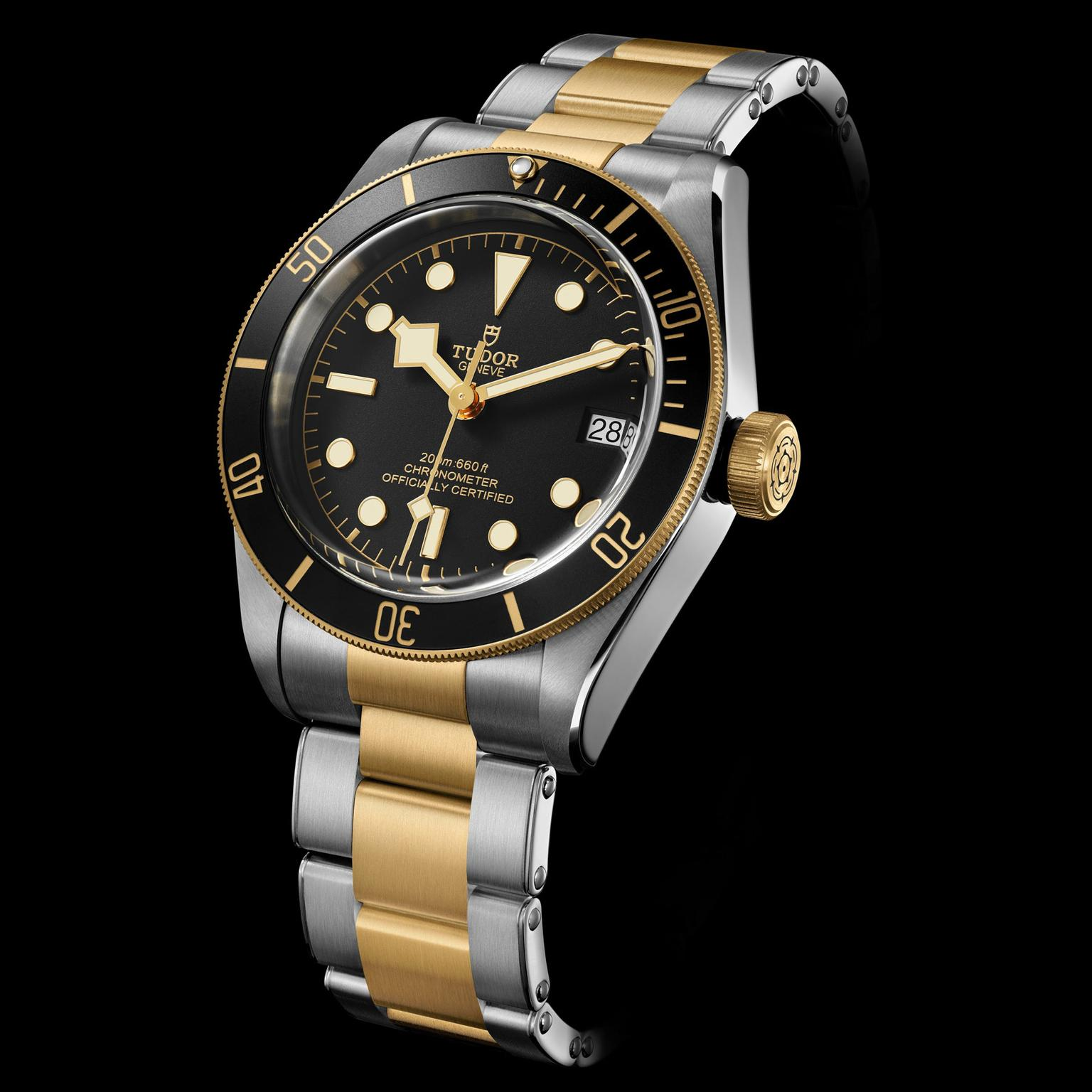 Heritage black bay watch in steel and gold tudor the - Tudor dive watch price ...