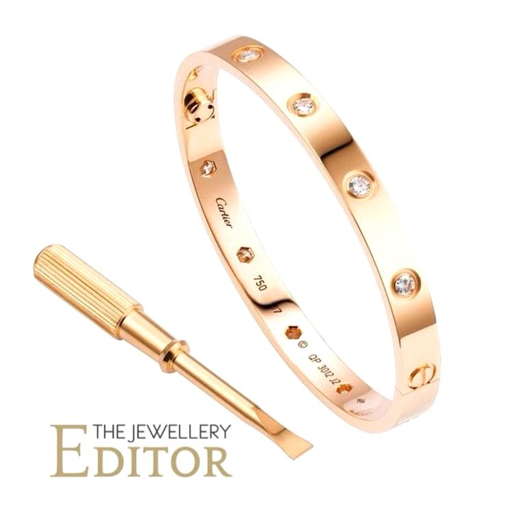 Cartier Love Bangle TJE Instagram