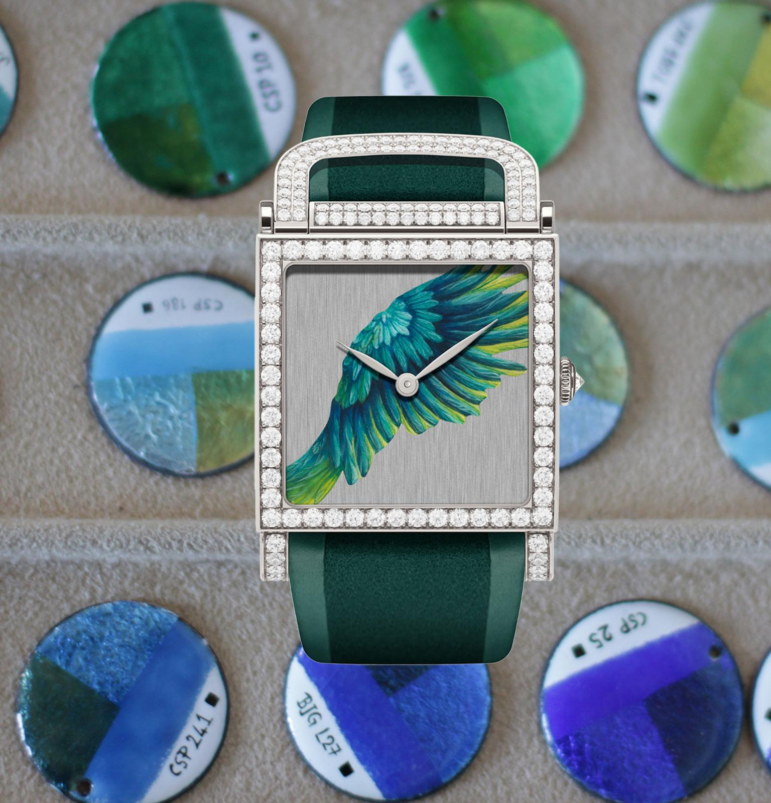 DeLaneau Parrot wing watch