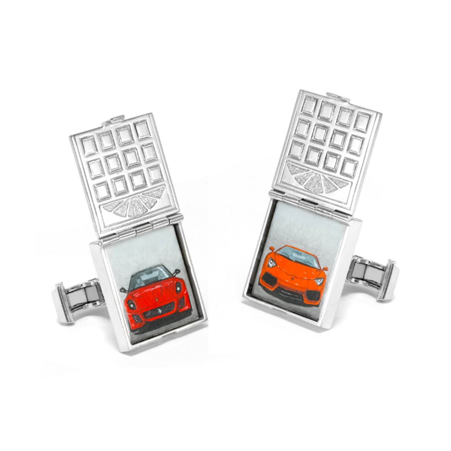 Theo Fennell Garage Door cufflinks