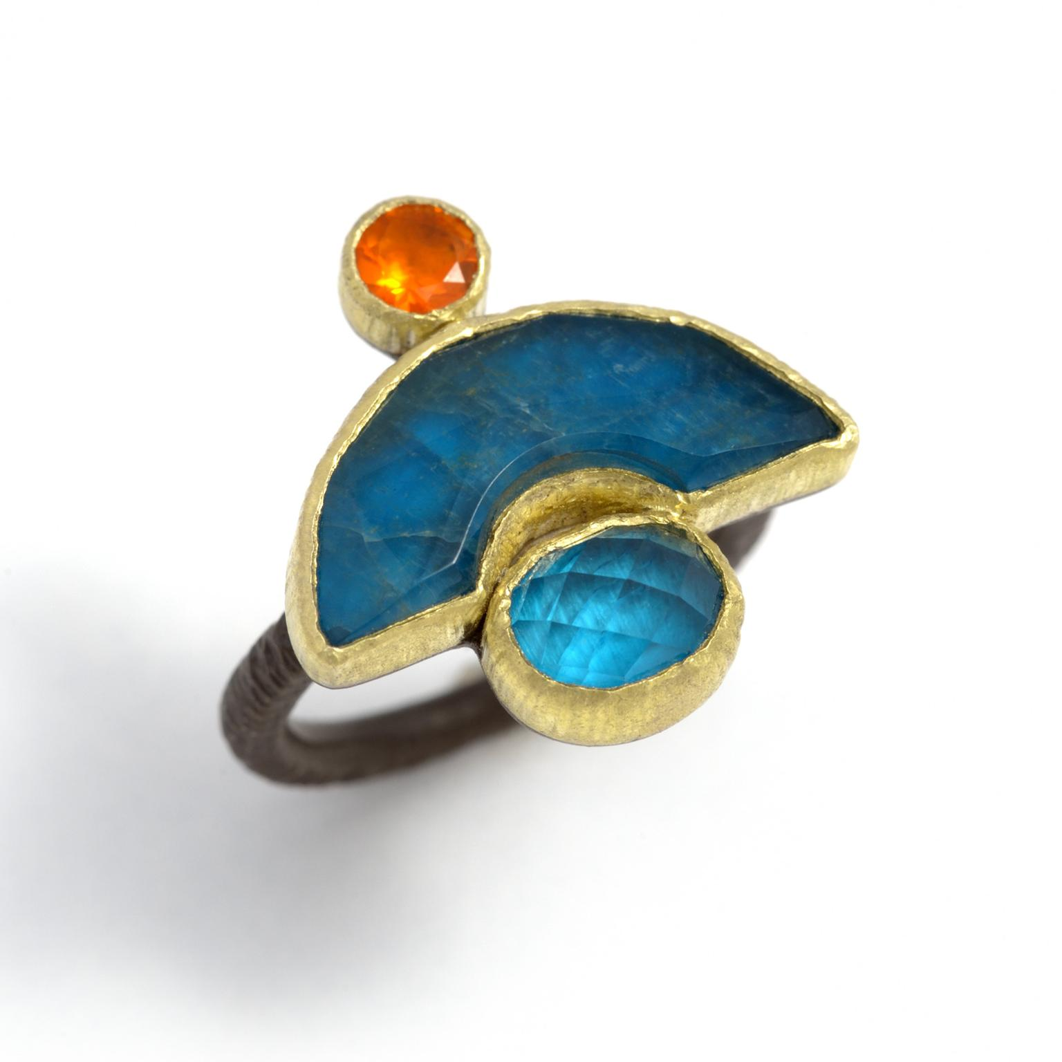 Maria Frantzi Geometry apatite ring
