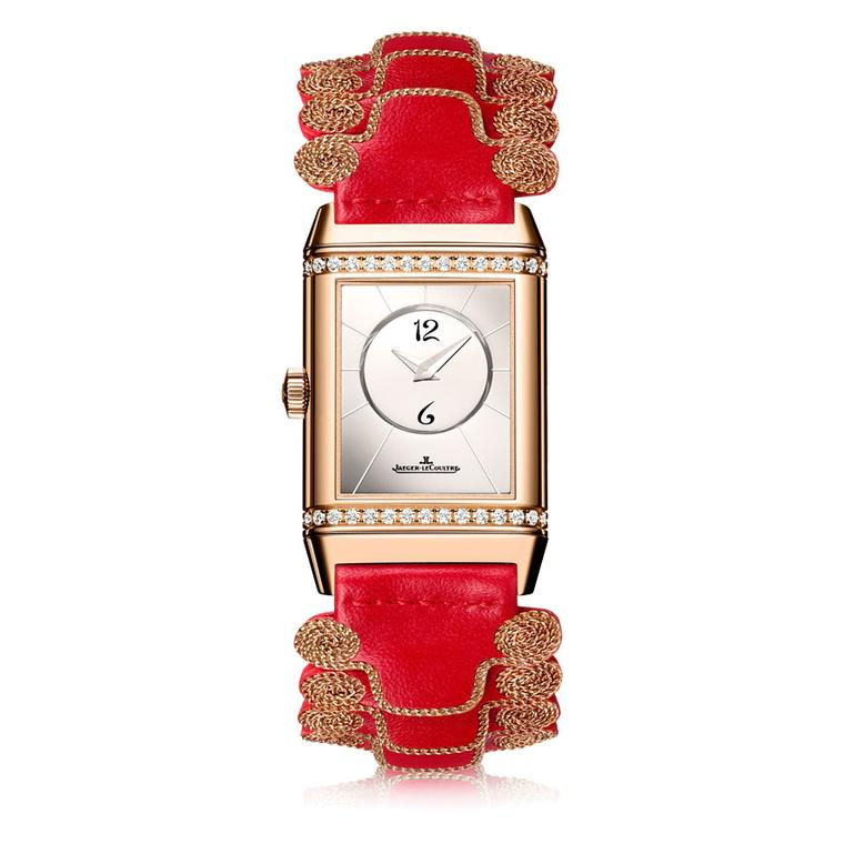 Reverso Classic Duetto with Christian Louboutin Officer strap