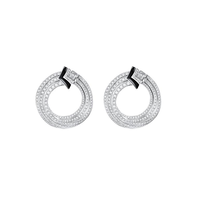 Louis Vuitton Acte V Escape Newport earrings