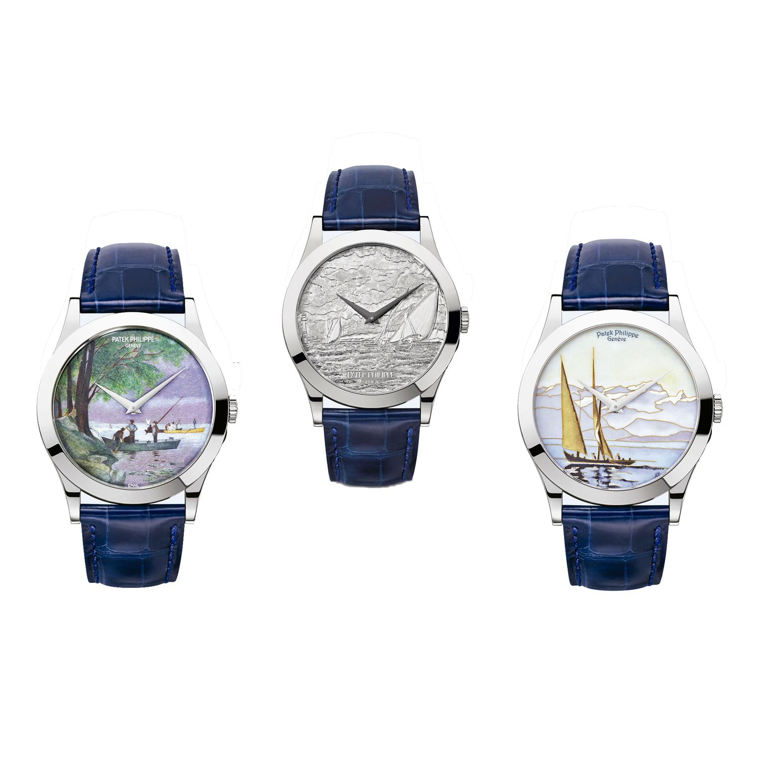 Patek Philippe Calatrava 175 Commemorative Collection watches