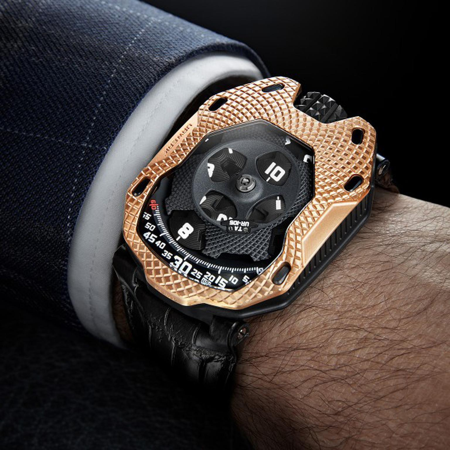 Urwerk UR-105 Raging Gold watch