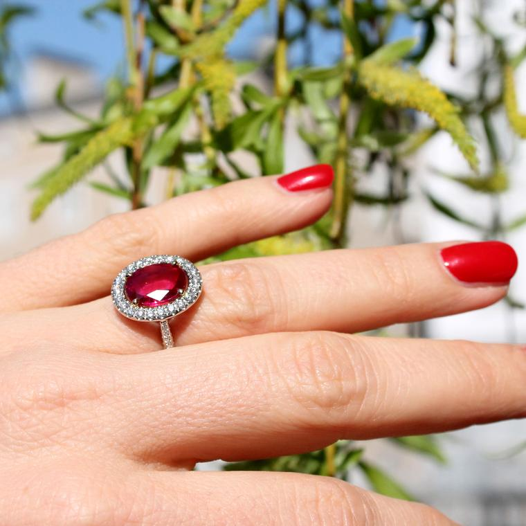 Aenea Candy collection ruby ring