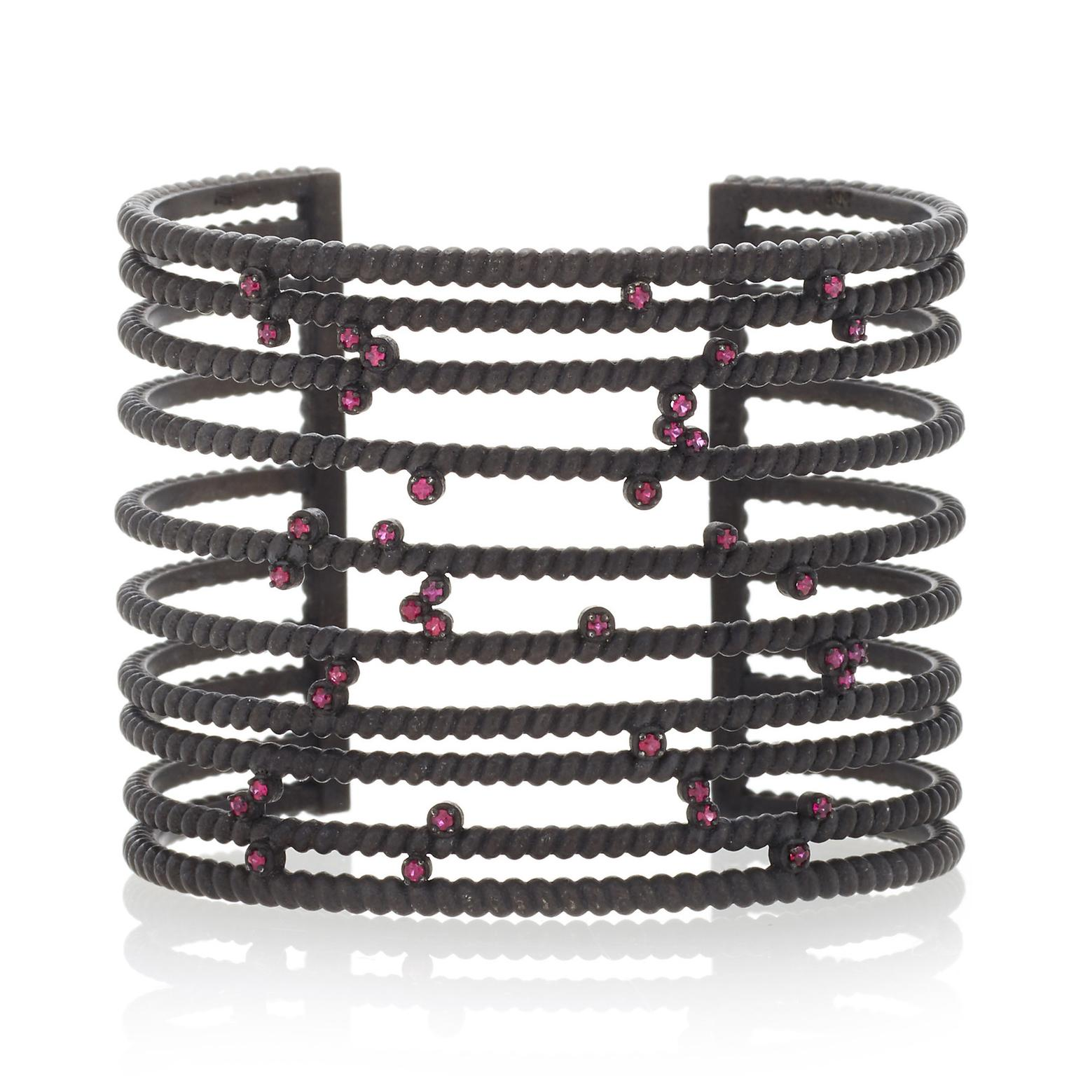 Nancy Newberg Twisted Bar Cuff