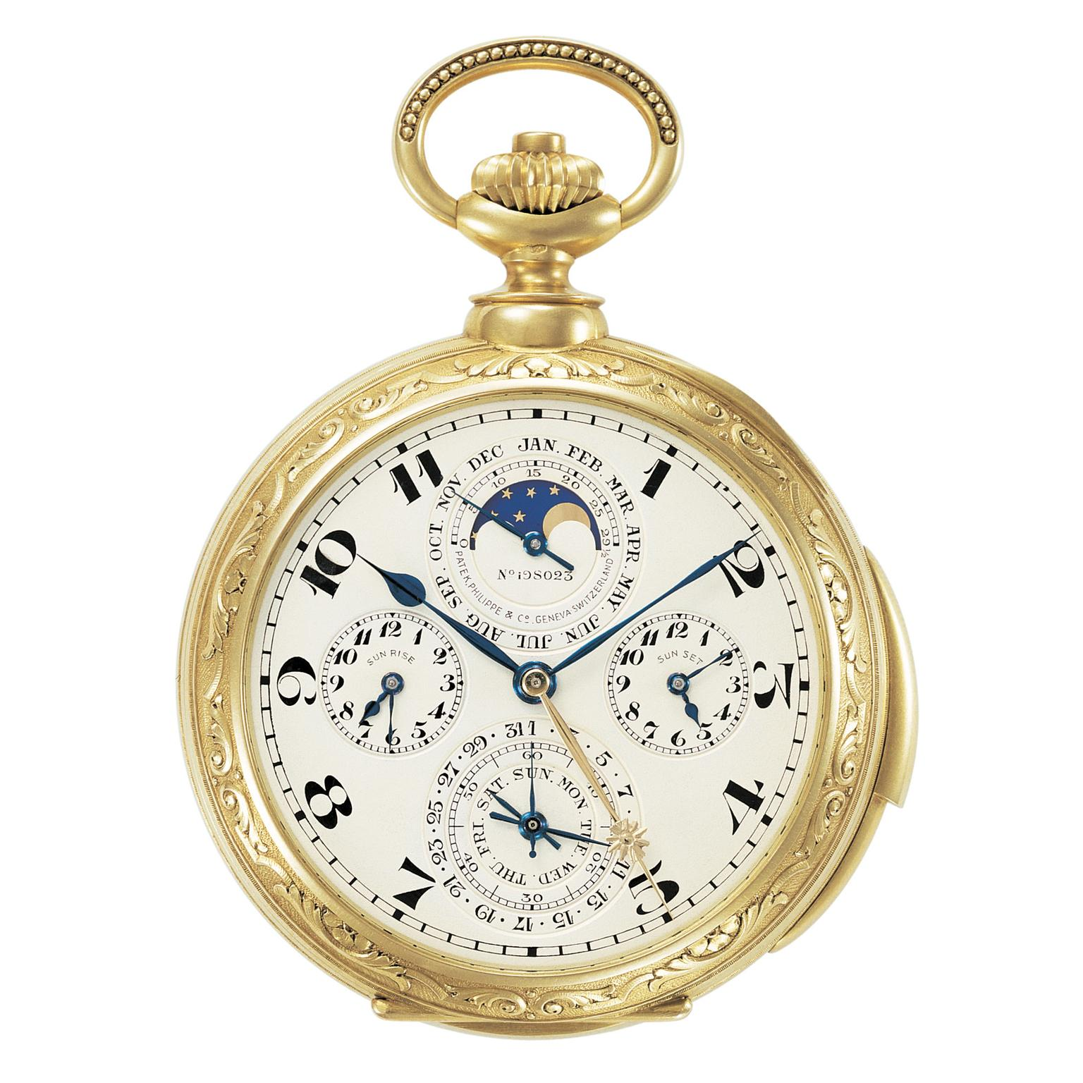 James Ward Packard's Astronomical Pocket Watch 1925