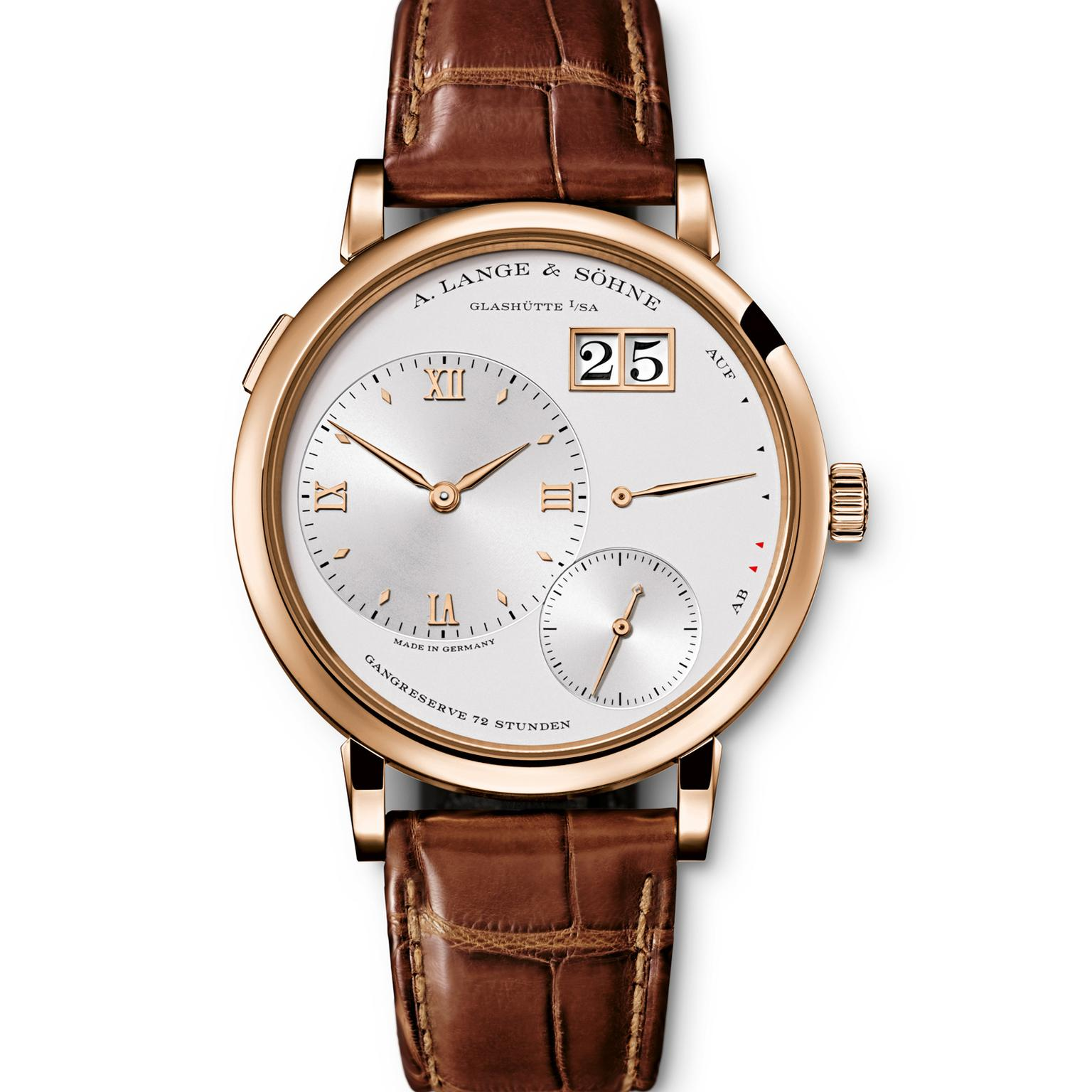 A. Lange & Söhne Grand Lange 1 rose gold