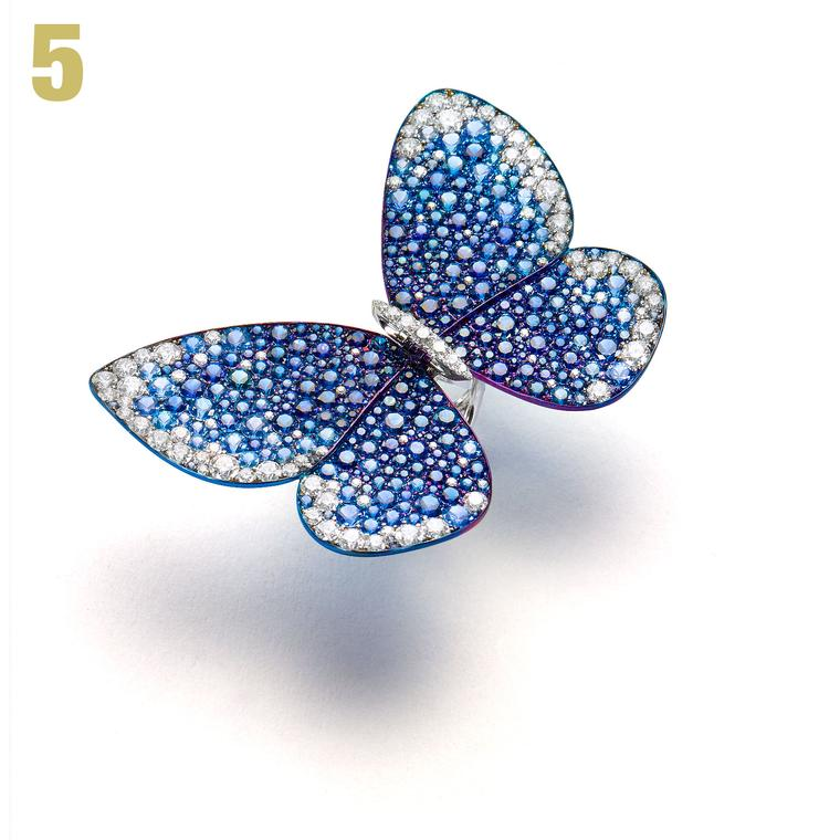 Glenn Spiro Butterfly ring